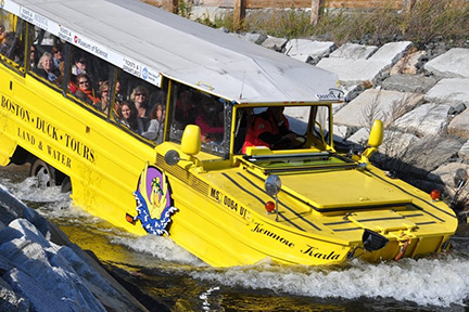 Duck Tour on Land and Water