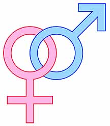 Male & Female Symbols Linked