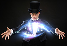 Magician with Hat