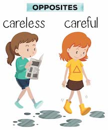 Careless and Careful Girls